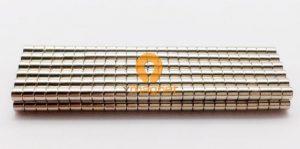 N35 NdFeB Disc Magnet D2.5mm*2mm