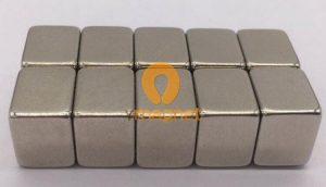 N52 NdFeB Block Magnet F10mm*10mm*7mm