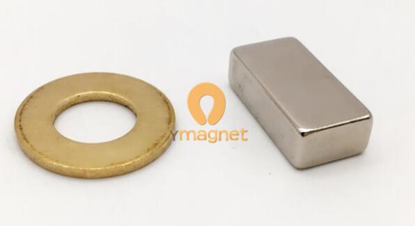 35uh ndfeb block magnet f20mm 6mm 10mm 1 - N35UH NdFeB Block Magnet F20mm*6mm*10mm