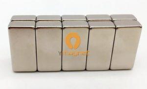 N35UH NdFeB Block Magnet F20mm*6mm*10mm