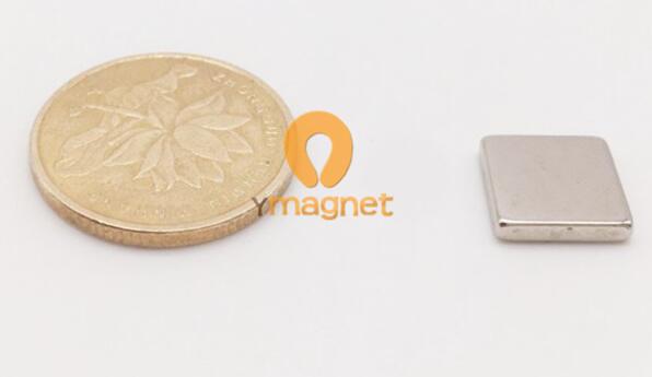 n35 ndfeb block magnet f10mm 10mm 2mm 1 - N35 NdFeB Block Magnet F10mm*10mm*2mm