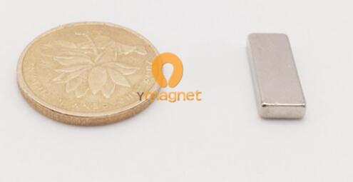 n35 ndfeb block magnet f6mm 2 5mm 16mm 1 - N35 NdFeB Block Magnet F6mm*2.5mm*16mm