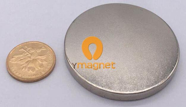 n35 ndfeb disc magnet d50mm 5mm 1 - N35 NdFeB Disc Magnet D50mm*5mm