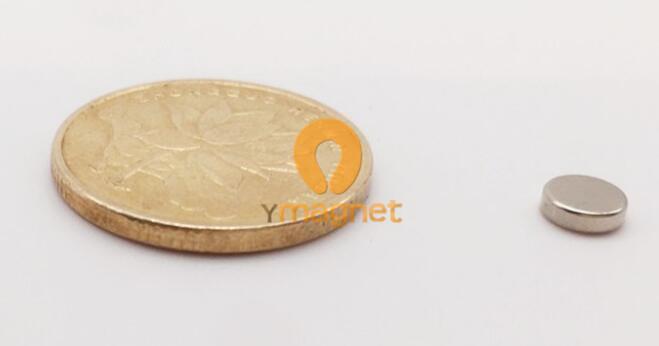 n35 ndfeb disc magnet d5mm 1 5mm 1 - N35 NdFeB Disc Magnet D5mm*1.5mm