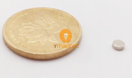 n35 ndfeb disc magnet d6mm 1mm 1 - N35 NdFeB Disc Magnet D6mm*1mm