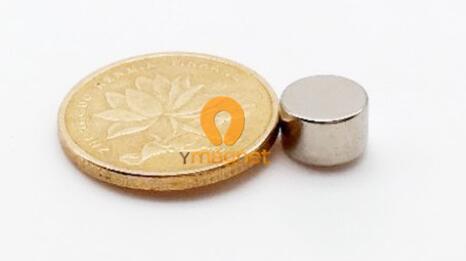 n35 ndfeb disc magnet d8mm 5mm 1 - N35 NdFeB Disc Magnet D8mm*5mm