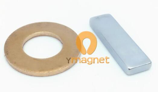 n38 ndfeb block magnet f22mm 6 65mm 2 5mm 1 - N38 NdFeB Block Magnet F22mm*6.65mm*2.5mm