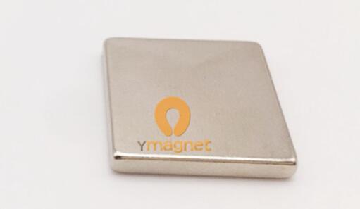 n45 ndfeb block magnet f20mm 20mm 3mm 1 - N45 NdFeB Block Magnet F20mm*20mm*3mm