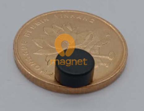 n48 ndfeb disc magnet d6 35mm3 18mm epoxy coating 1 - N48 NdFeB Disc Magnet D6.35mm*3.18mm Epoxy Coating