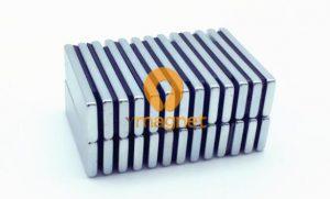 35SH NdFeB Block Magnet F30mm*10mm*2.4mm