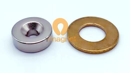 n35 ndfeb disc countersunk magnet d15mm 5mm 4mm 1 - N35 NdFeB Disc Countersunk Magnet D15mm*5mm-4mm