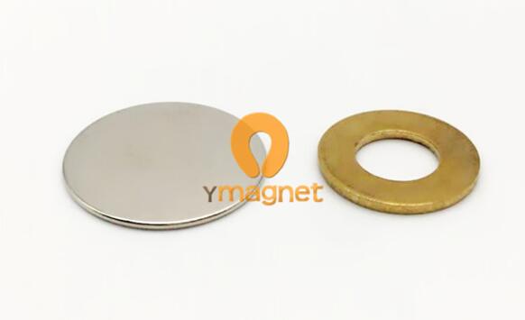 n35 ndfeb disc magnet d25mm 1mm 1 - N35 NdFeB Disc Magnet D25mm*1mm