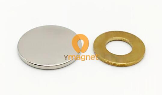 n35 ndfeb disc magnet d25mm 2mm 1 - N35 NdFeB Disc Magnet D25mm*2mm