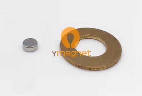 n35 ndfeb disc magnet d5mm 2mm 1 - N35 NdFeB Disc Magnet D5mm*2mm Coating: Nickel copper nickel