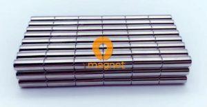 N35 NdFeB Rod Magnet D6mm*15mm