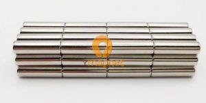 N35 NdFeB Rod Magnet D6mm*20mm