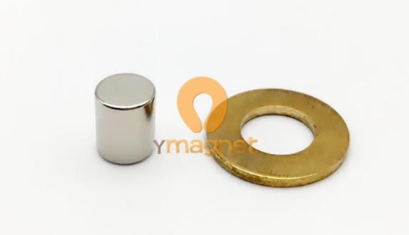 n35 ndfeb rod magnet d8mm 10mm 1 - N35 NdFeB Rod Magnet D8mm*10mm