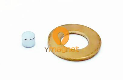 n42 ndfeb disc magnet d5mm 4mm 1 - N42 NdFeB Disc Magnet D5mm*4mm