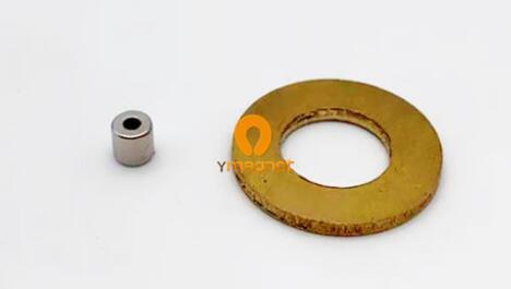 n45 ndfeb tube magnet radial magnetization d4mm 4mm 1 6mm 1 - N45 NdFeB Tube Magnet Radial magnetization D4mm*4mm*1.6mm