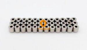 N45 NdFeB Tube Magnet Radial magnetization D4mm*4mm*1.6mm