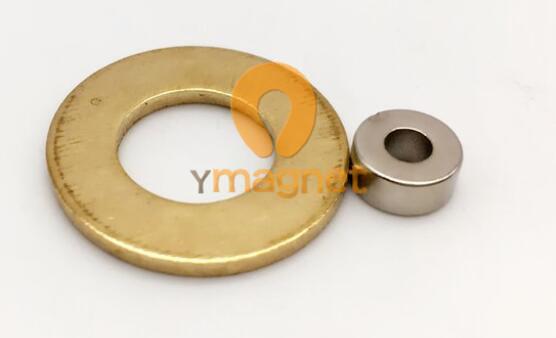 n48 ndfeb ring magnet d7mm 3mm 3mm 1 - N48 NdFeB Ring Magnet D7mm*3mm*3mm