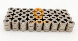 N48 NdFeB Ring Magnet D7mm*3mm*3mm