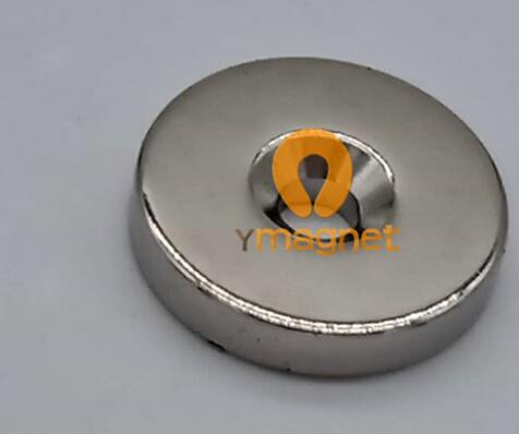 n52 ndfeb disc countersunk magnet d25 4mm 4 76mm 5 58 9 44mm 1 - N52 NdFeB Disc Countersunk Magnet D25.4mm*4.76mm-5.58/9.44mm