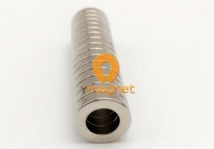 N52 NdFeB Ring Magnet D12mm*3mm*7mm