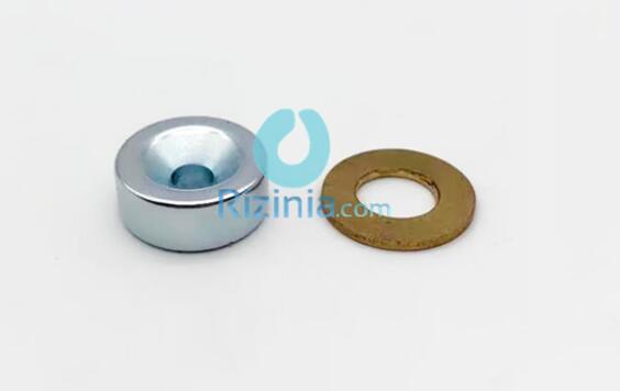 n35 ndfeb disc countersunk magnet d20mm8mm 5 6mm 0 - N35 NdFeB Disc Countersunk Magnet D20mm*8mm-5.6mm
