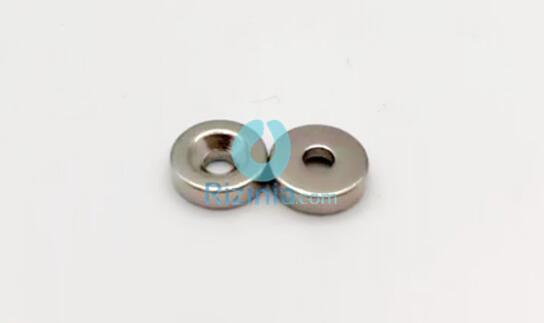 n35 ndfeb disc countersunk magnet d10mm3mm 3mm 1 - N35 NdFeB Disc Countersunk Magnet D10mm*3mm-3mm
