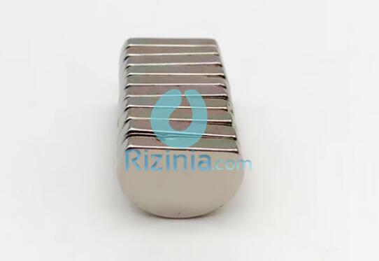 n35 ndfeb semicircle magnet diameter d20mm 3mm - N35 NdFeB Semicircle Magnet Diameter D20mm * 3mm