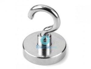 N35 Neodymium Search Magnet D32mmxD5.5mmxD10.5mmx6.5mm