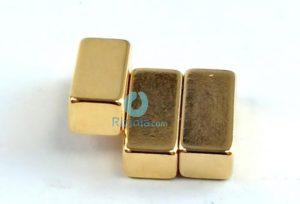 N52 NdFeB Block Magnet F9.52mmx3.96mmx4.77mm