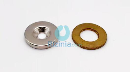 n35 ndfeb disc countersunk magnet d20mm3mm 10mm 1 - N35 NdFeB Disc Countersunk Magnet D20mm*3mm-10mm