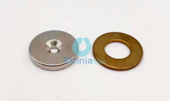 n35 ndfeb disc countersunk magnet d20mm3mm 3mm 1 - N35 NdFeB Disc Countersunk Magnet D20mm*3mm-3mm