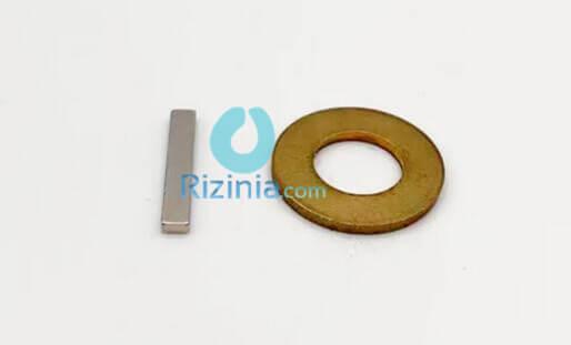 n42 ndfeb block magnet f19 05mmx3 175mmx1 6mm 1 - N42 NdFeB Block Magnet F19.05mmx3.175mmx1.6mm