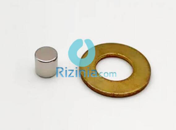 n42 ndfeb disc magnet d6 4mm6 6mm 1 - N42 NdFeB Disc Magnet D6.4mm*6.6mm