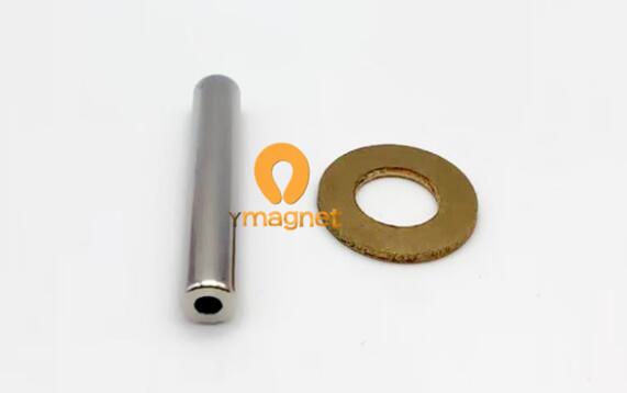 n42 ndfeb tube magnet d6 6mm38mm 3mm 1 - N42 NdFeB Tube Magnet D6.6mm*38mm-3mm