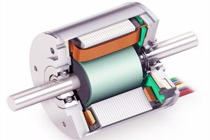 Types and principles of common driving motors for new energy vehicles